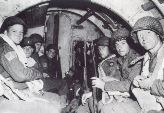 D-Day, glider infantry