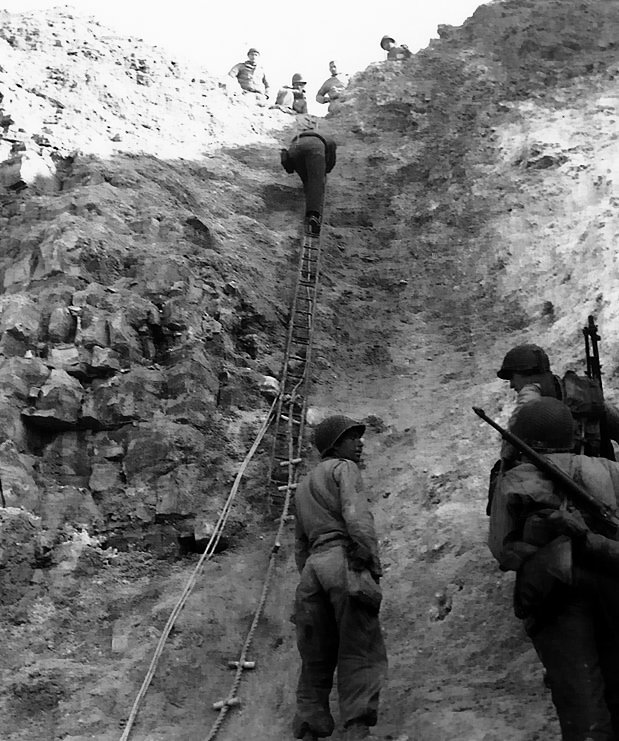 D-Day, Rangers ladder