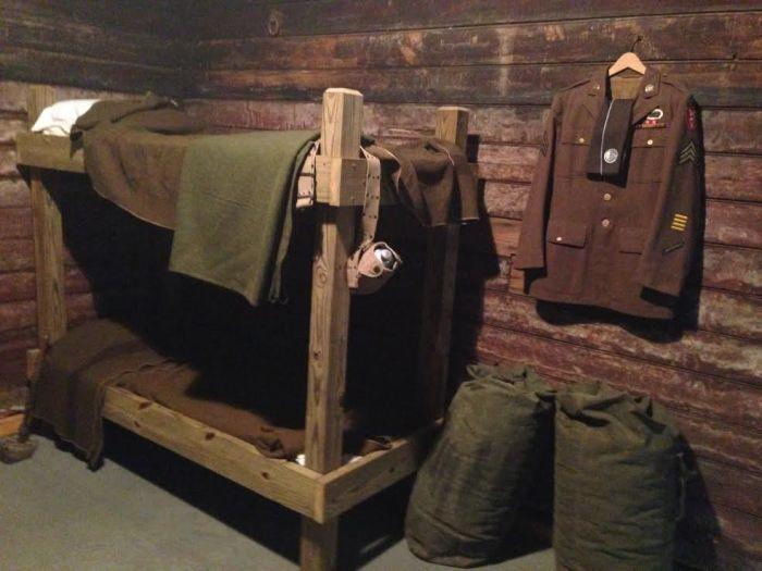 Toccoa Museum bunk
