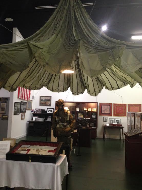 Toccoa Museum parachute