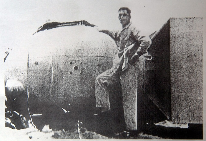 Fat Man, Little Boy and the Graci brothers *** New Orleans natives got a close look at the atomic bombs that ended WWII