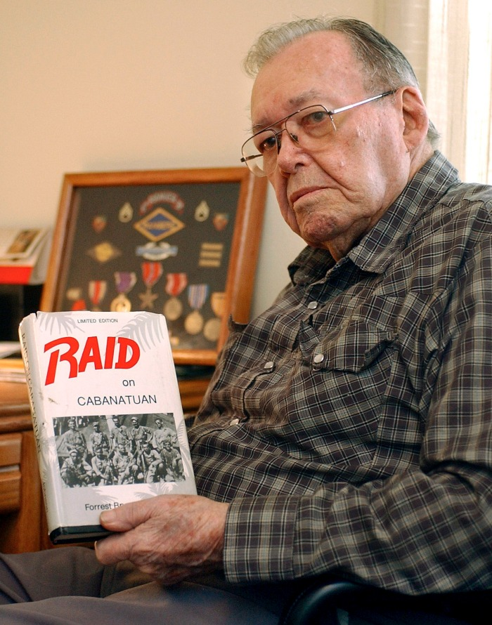 BR man recalls dramatic raid to liberate Japanese POW camp... 11/23/04